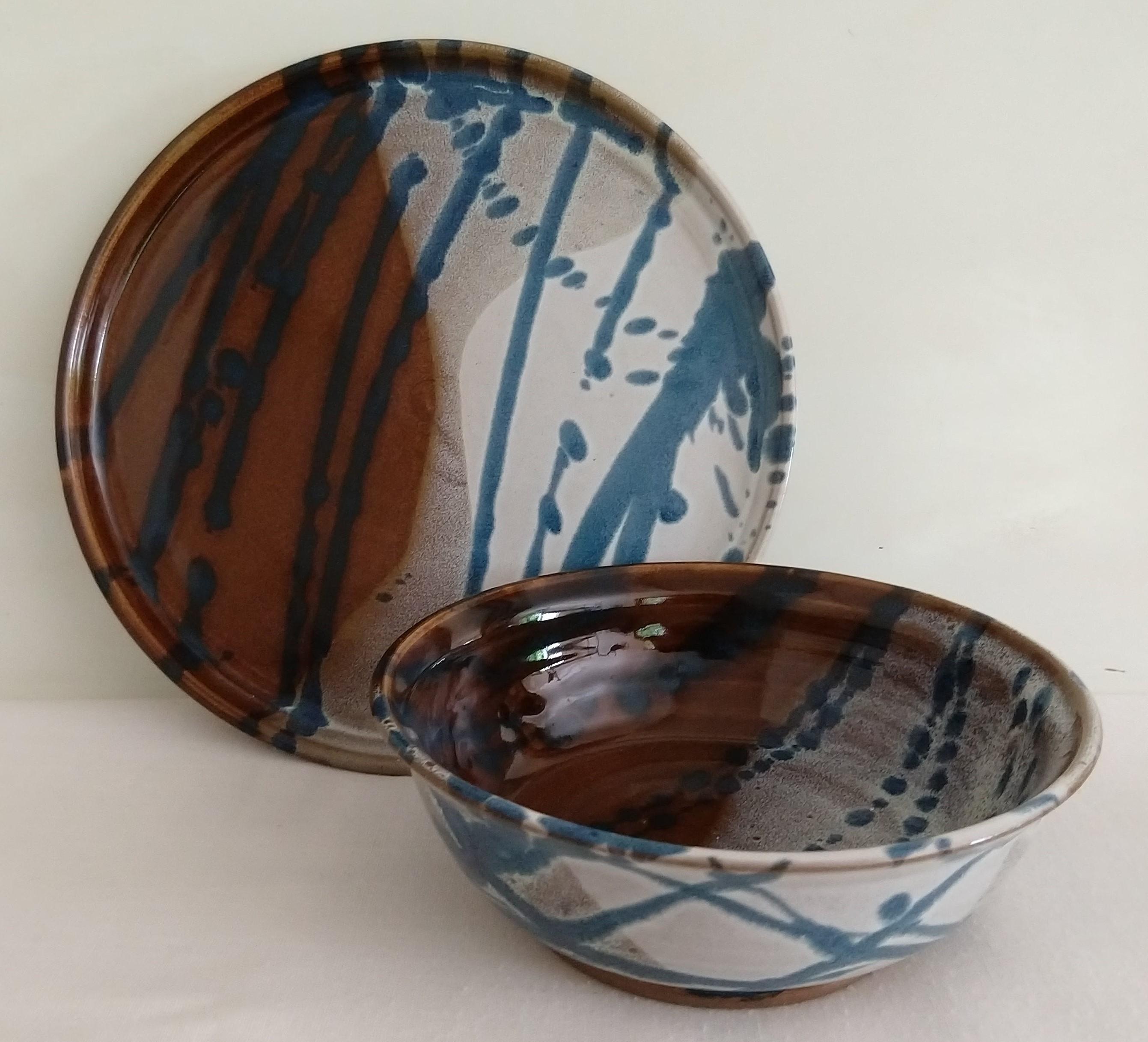 og white plate bowl cropped