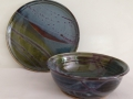 blue green plate bowl cropped